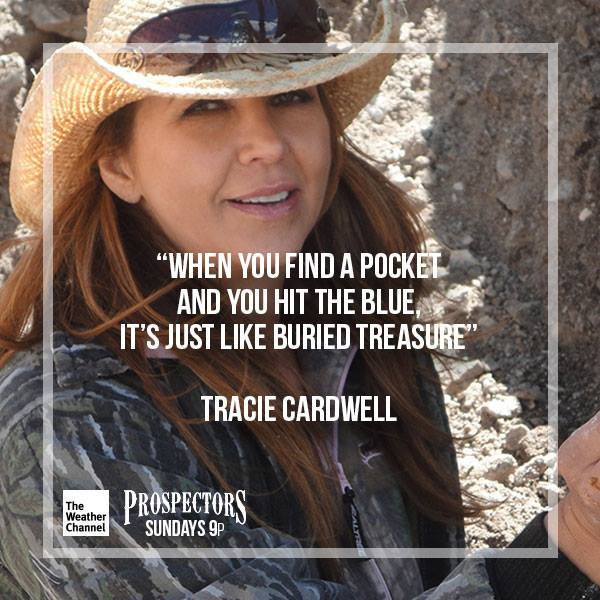 Tracie Cardwell Prospectors page